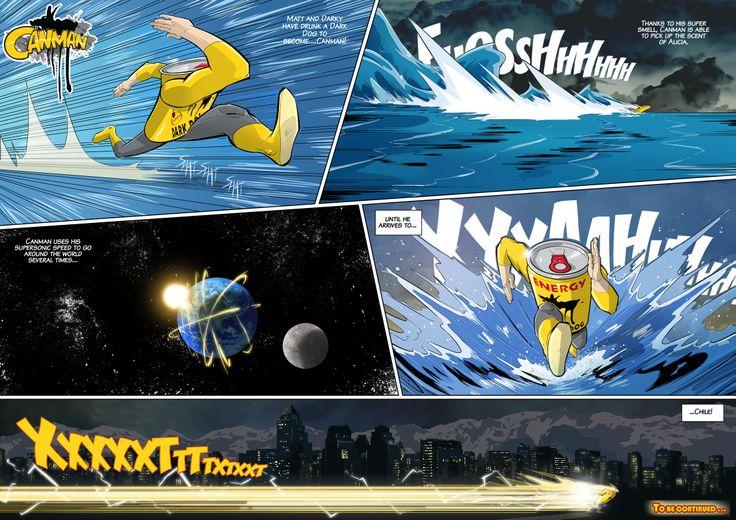 Season2 - Issue15 #canman #webcomic by #DARKDOG