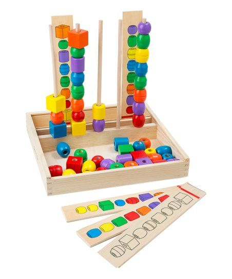 Melissa Doug Bead Sequencing Toy Set Zulily Kehe Wish List