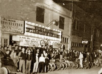 Picher Oklahoma Movie Theaters. This is the exact place my parents met.