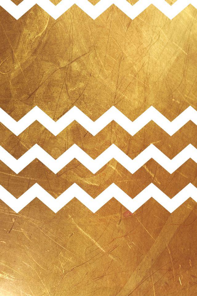gold chevrons iphone wallpaper backgrounds pinterest