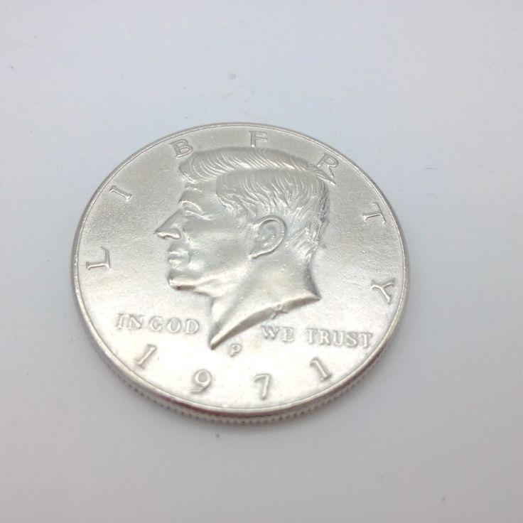 Half Dollar Coin Magic Tricks Free Shipping Magia Trick Toys Close up Coins Fun Magie  #Affiliate