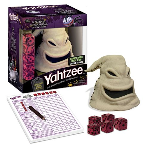 The Nightmare Before Christmas Oogie Boogie Yahtzee Game
