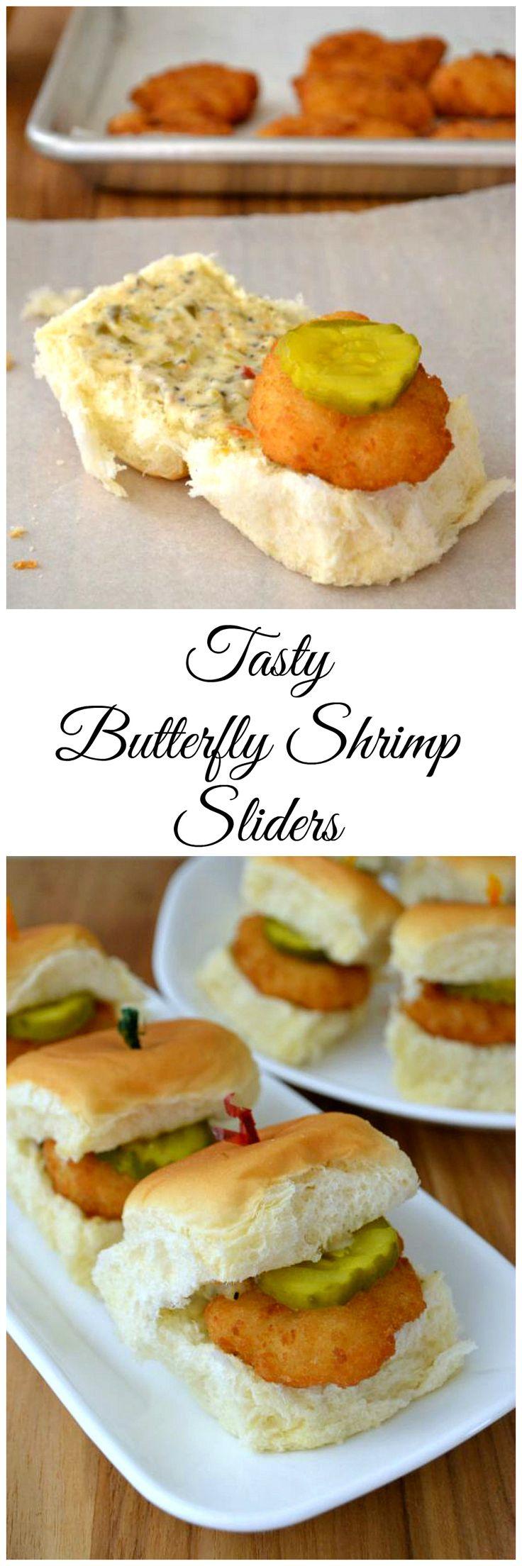 Easy Tasty Butterfly Shrimp Sliders #ad #SamsClubSeafood