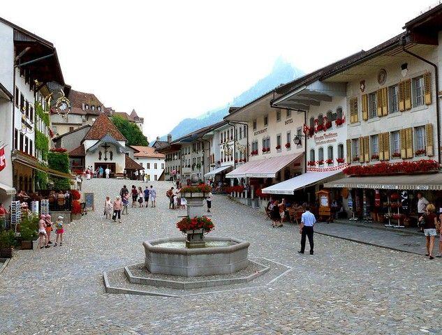 İsviçre - Gruyères