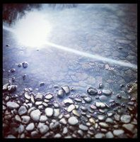 13pebbles by the water by Quinzy