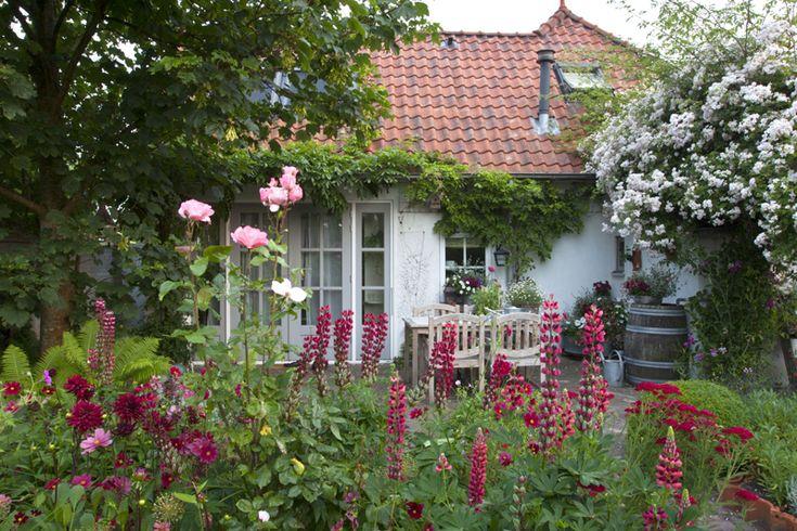 Ton in Ton gehaltene Gärten können ausgesprochen abwechslungsreich sein – wenn man ein paar Kniffe beachtet.