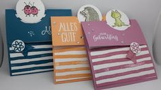 Schöne Papeterie: Flip Fold Karte und eine Anleitung