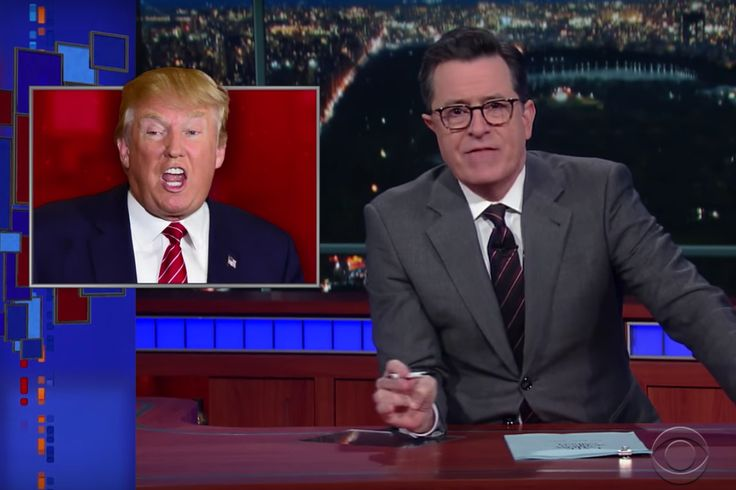 After the inauguration, The Late Show stopped being polite and started getting furious.
