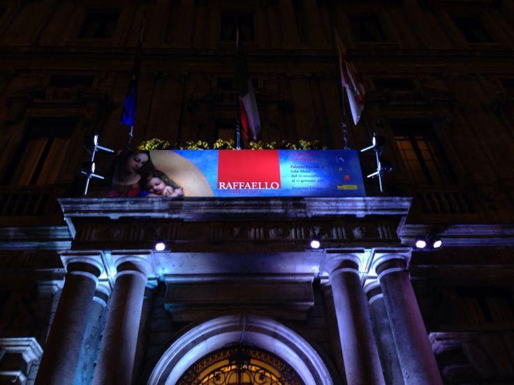#Italia #Milan Mostra Raffaello Milano Palazzo Marino