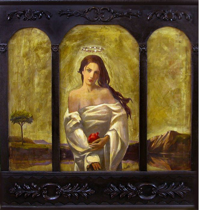 oil on canvas, 60x60cm