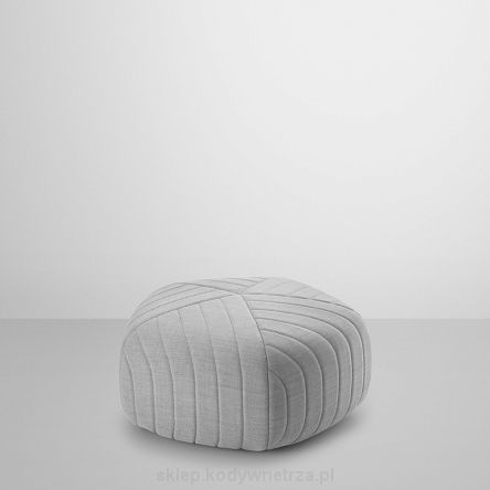 MUUTO - Five Pouf - Jasnoszara - designerska pufa w kształcie pięciokąta projektu Anderssen & Voll dla Muuto - Light Grey - designers pentagon pouf by Anderssen & Voll for Muuto