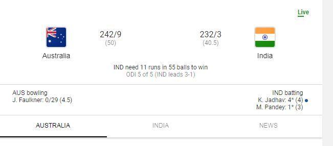 KALAKKAL MERCHI SEMMA HOT MACHI: Live Cricket update