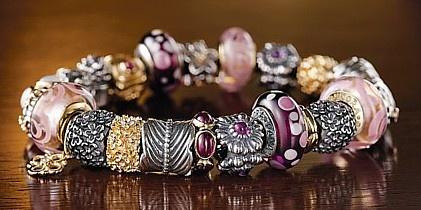 beautiful Pandora bracelet
