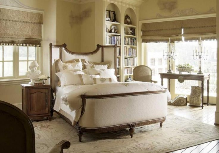 http://trainingjo.com/wp-content/uploads/2014/10/soft-bedroom-furniture-style-with-elegant-headboard-as-well-white-bedding-including-book-shelves-beside-glass-window-and-candle-stand-on-table.jpg