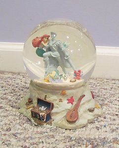 Disney's The Little Mermaid Ariel's Grotto Snowglobe | eBay