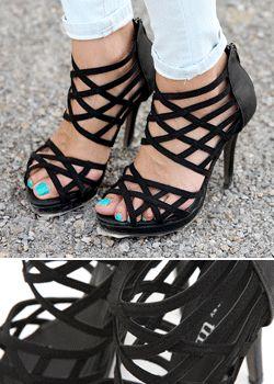 SD_1308_SH050 Spider web Peep-toe heels