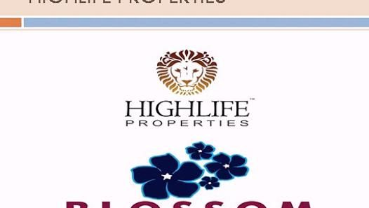 Highlife Properties - HIGHLIFE Blossom is located right on Baglur - Devanahalli Road and just 6 kilometers before New International Airport. Full of nature and Blossom neighborhood, place to enjoy life with serenity and rejoice