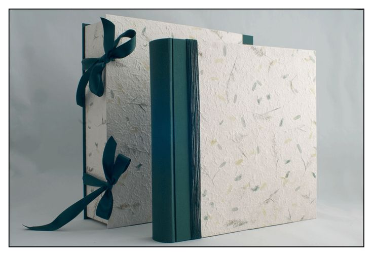 Album 35x35 in carta gelso e tessuto