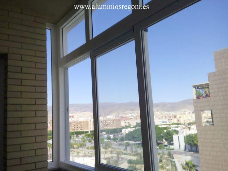 38 best ventanas y cristaleras de aluminio images on - Cristaleras de aluminio ...