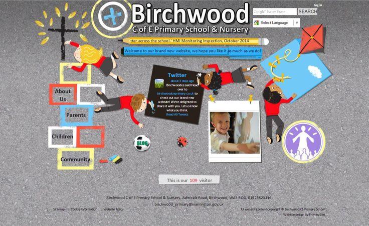 http://www.birchwoodceprimary.co.uk/ by https://primarysite.net/