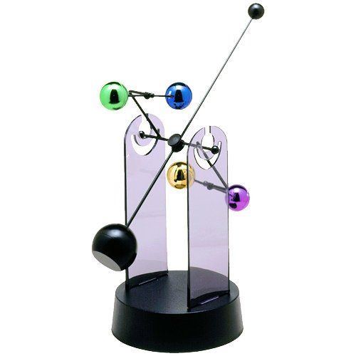 19 best perpetual motion sculptures toys images on for Kinetic desk sculpture