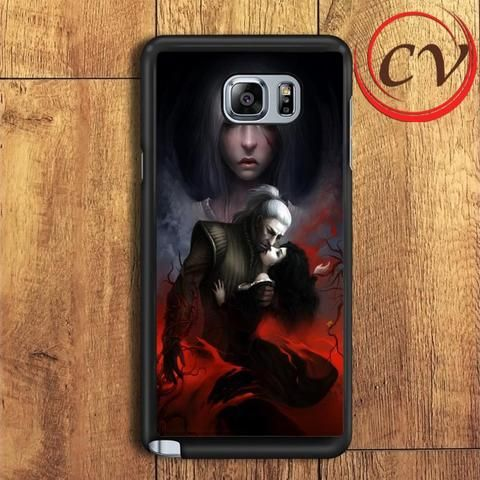 The Witcher Game Kissr Samsung Galaxy Note 5 Case