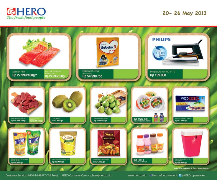 Check out our weekly promo (20 - 26 May 2013)