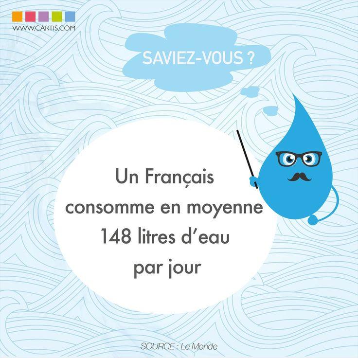 Une consommation d'eau que l'on peut réduire avec des gestes simples http://urlz.fr/2B88