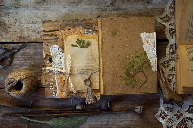Handmade by Smilla: Альбом в Эко-стиле и анонс МК