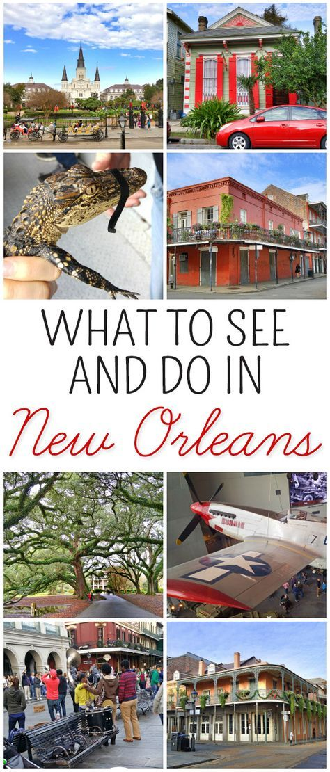 New Orleans: What to See and Do