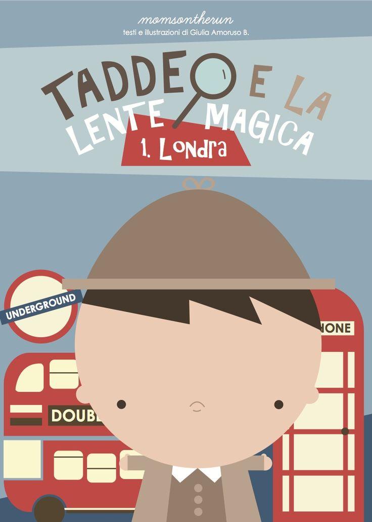 #Taddeo ti aspetta per una fantastica avventura a #Londra! http://taddeoelalentemagica.it #vacanzebambini