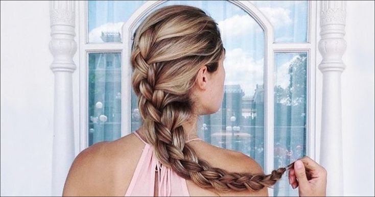 French plait braid: That's how the French Braid | Hairstyles women #styles #fairy hairstyles #stylish hairstyles #short hairstyle #frisur ideas # hairstyles2019 # hairstyle hairstyles #styleseasy #like #love #new #homedecor #quotes #newyear #recipes #happy #holiday #christmas # 2018 #wedding #art #recipes #thanksgiving #outfits #photography #diy #decor #dresses #fashion #fitness #funny #jewelry #keto #lowcarb #ideas #zulilyfinds #xmas #beauty