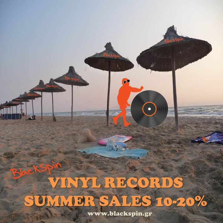 Blackspin Vinyls Summer Sales 10-20%! Get your Vinyls Now: http://www.blackspin.gr/announcements/24--blackspin-vinyl-records-summer-sales.html