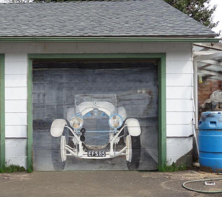 Style Your Garage Creative 3d Garage Doors Stickers: 46 Best Garage Door Murals! Images On Pinterest