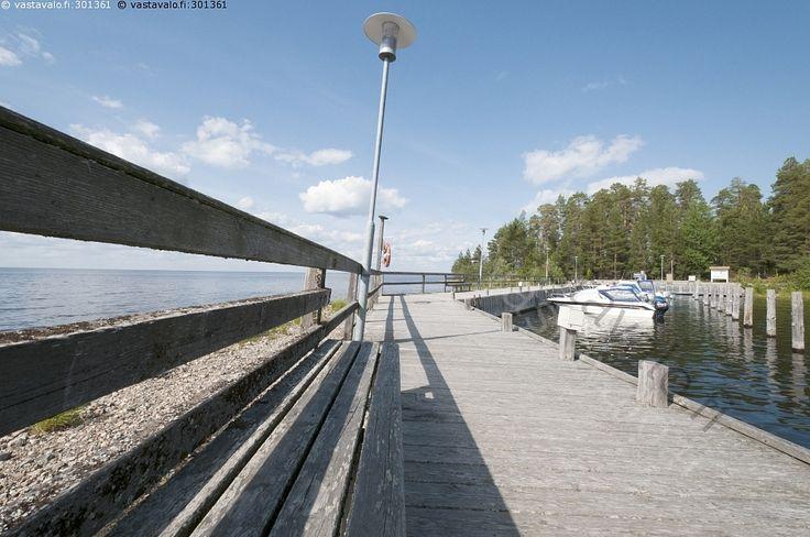 Manamansalon laituri - Kainuu Manamansalo Oulunjärvi