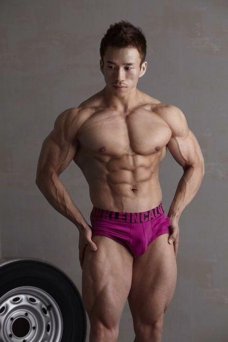 Asian muscle hunk | Don't Enter my Asian Board | Pinterest