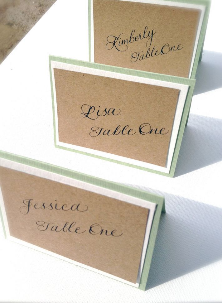 printable wedding place cards vintage%0A handmade wedding escort cards Etsy wedding stationery natural with  calligraphy
