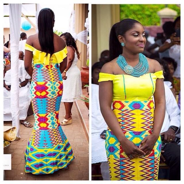 Kente Wedding Gowns: 17 Best Images About KENTE BRIDAL On Pinterest
