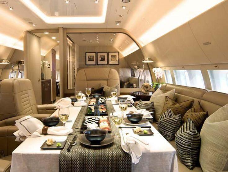 Les 25 meilleures id es de la cat gorie jets priv s de - Jet prive de luxe interieur ...