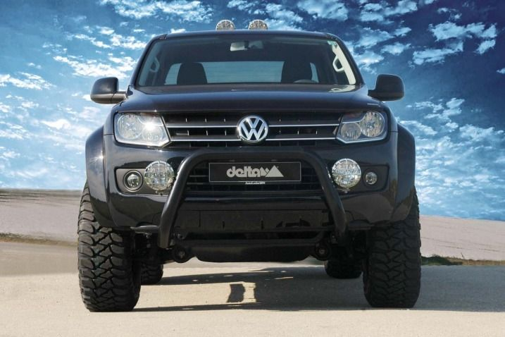 Delta 4x4 Nudge Bar - Volkswagen Amarok
