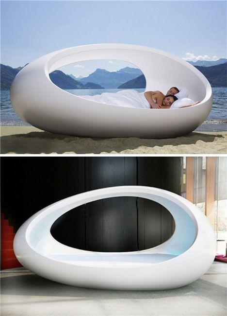 Futuristic Sofa/Bed.