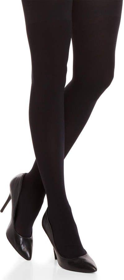 c5cc3d5827776 Calvin Klein Black 80 Denier High-Waisted Shaper Tights #Black#Calvin#Klein