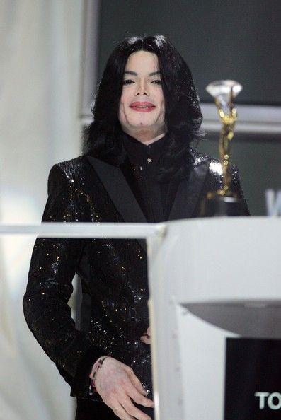 Michael Jackson   World Music Awards in London on November 15, 2006