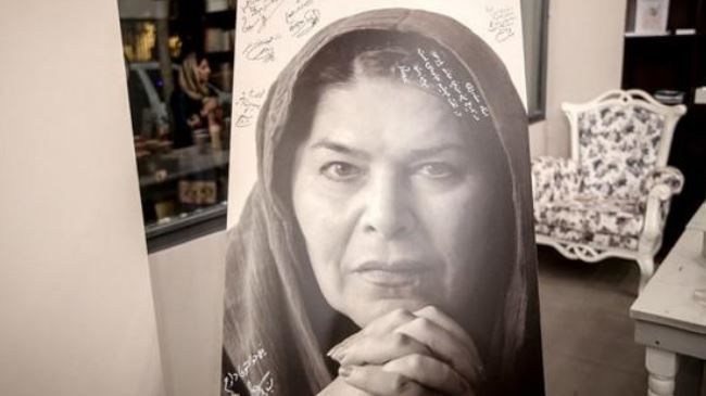 Veteran Iran actress Homa Rousta dies The leading Iranian stage and cinema actress Homa Rousta has passed away at the age of 69. The veteran actress, after some years struggling with cancer, eventually met her death in the United States on September 26, 2015, coinciding with her birthday. Rousta, who was the widow of the stage director Hamid Samandarian, graduated in theatre from the School of Dramatic Arts in Bucharest in Romania.