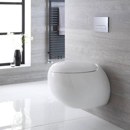 Cuvettes Toilettes WC Suspendus À Suspendre au Mur Design Moderne ...