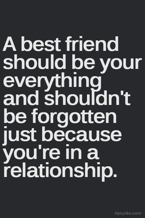 best friend is dating a loser