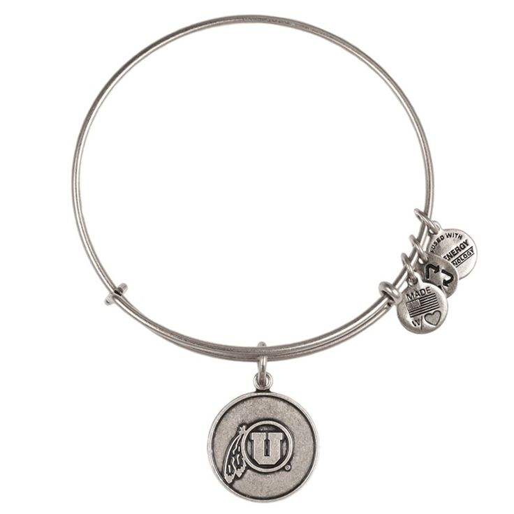 University of Utah Logo Charm Bracelet | Alex and Ani