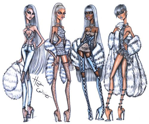 Iced Out, Frost Bite, Frozen & Glacial Glam by Hayden Williams