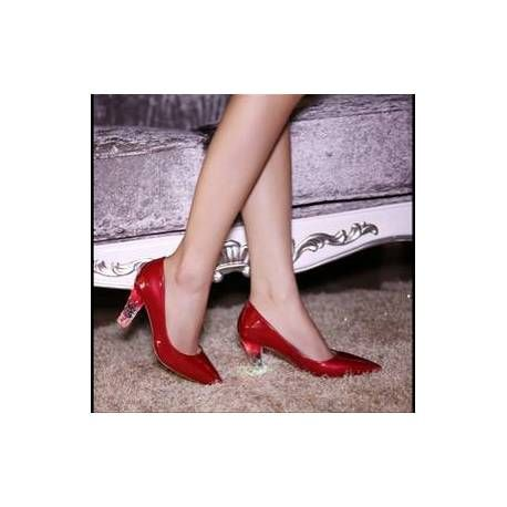 Chaussures A Talons Lumineux Nombreux Coloris !