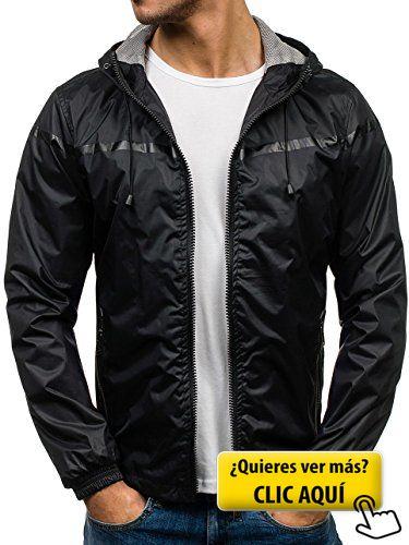 BOLF Hombre Chaqueta Multipurpose Bolsillos J.BOYZ... #chaqueta